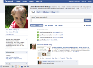 Jennifer Fong's Facebook Profile